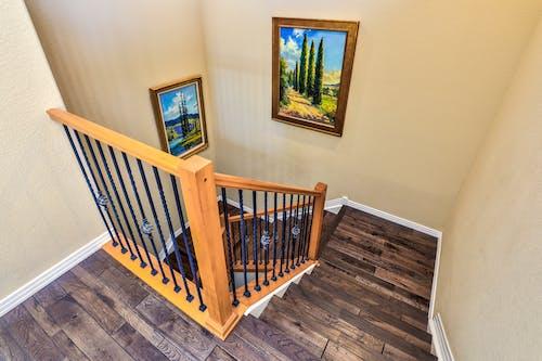 Immagine gratuita di decorazione d'interni, di sopra, interior design, legno