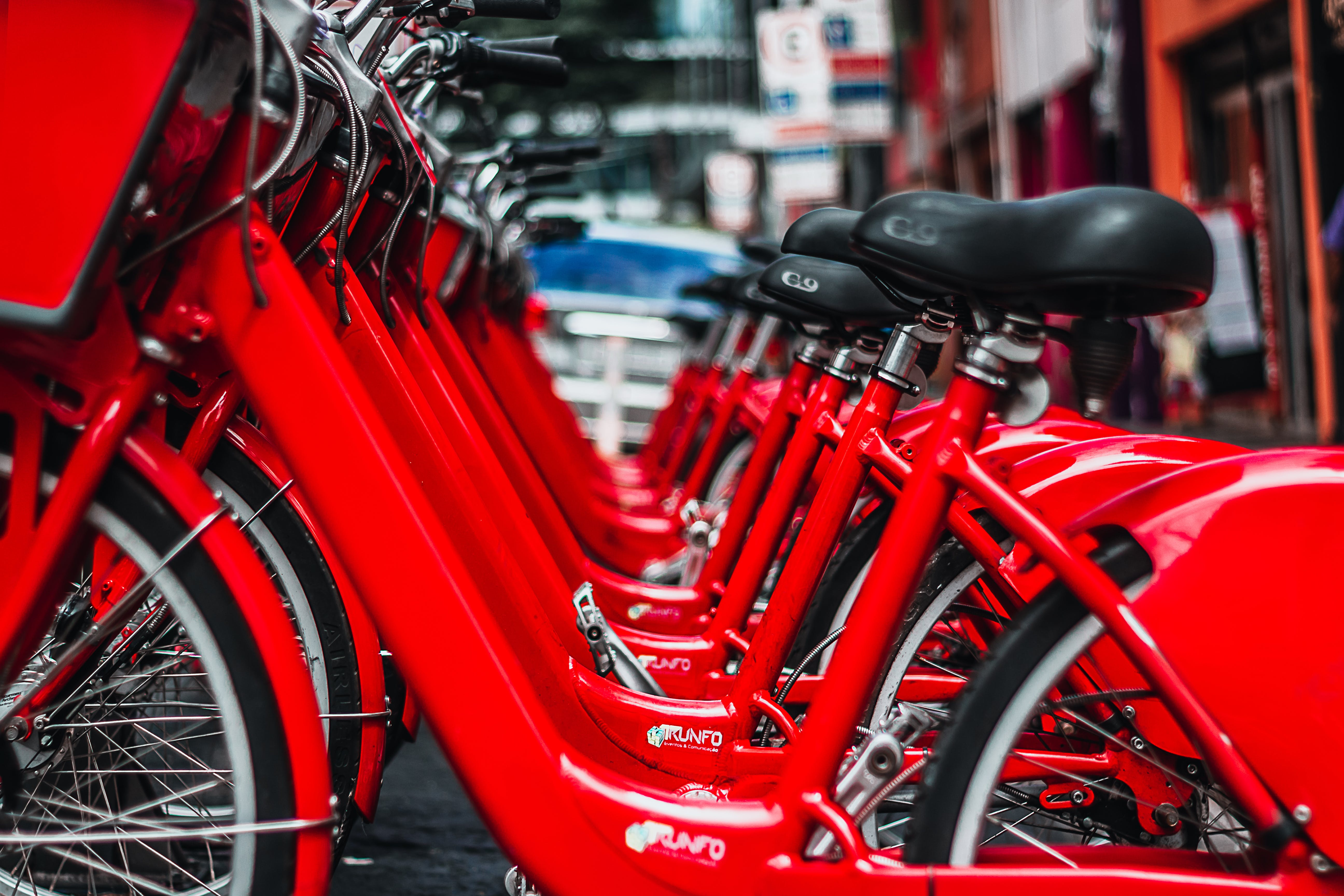 Red Cruiser Bicycles