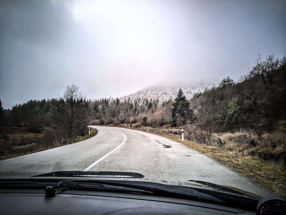 公路旅行, 山, 山峰