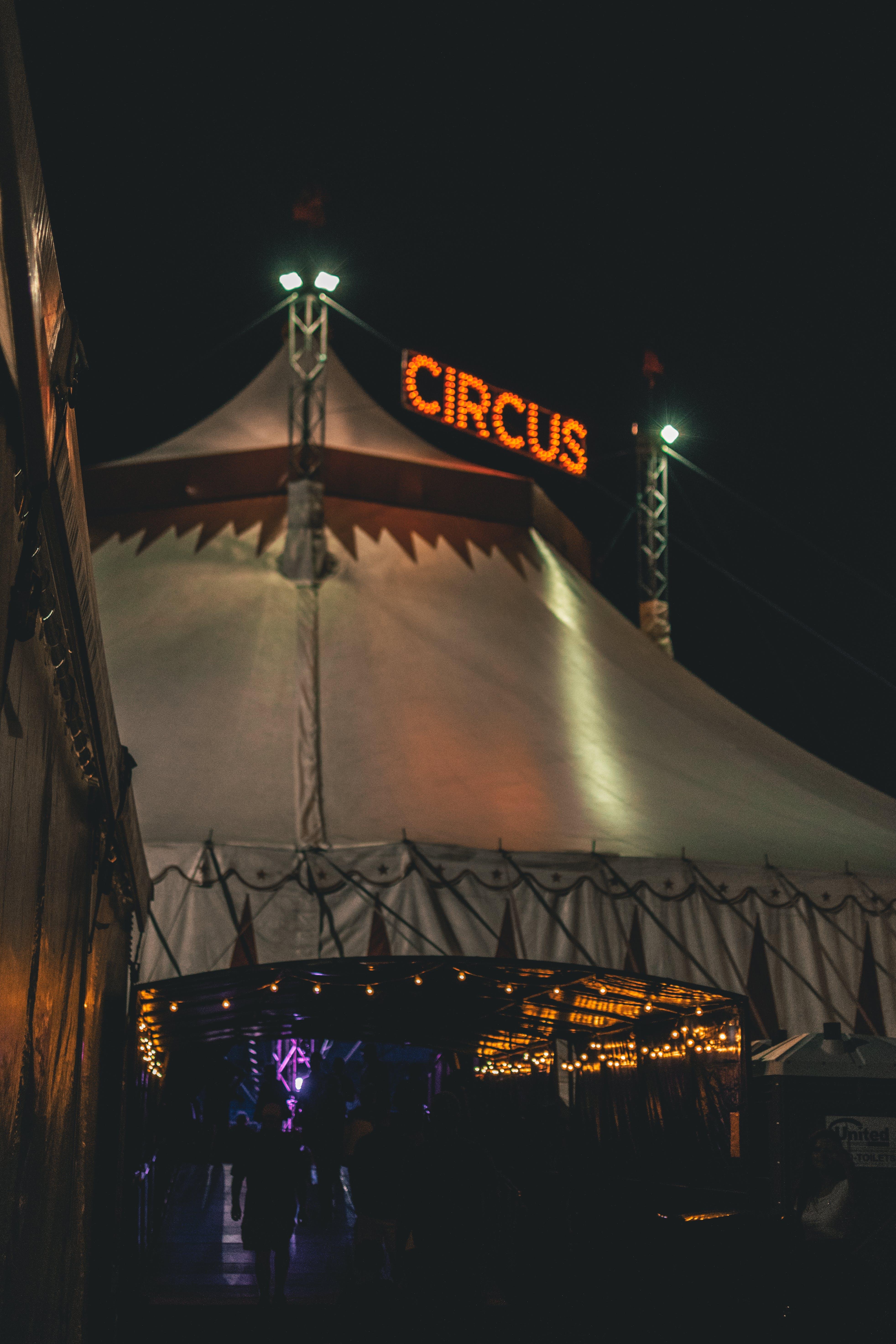 Fotos de stock gratuitas de arquitectura, circo, color, entretenimiento