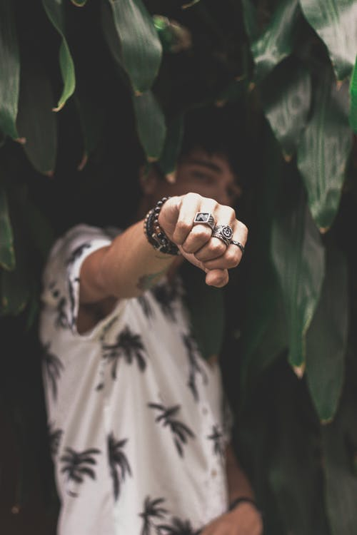 Photo of Man Wearing Rings