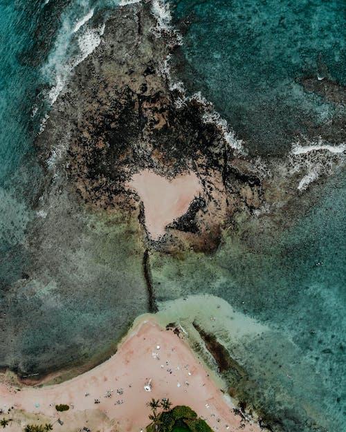 Ảnh lưu trữ miễn phí về bờ biển, cảnh đẹp, chụp ảnh bằng máy bay không người lái, chụp ảnh trên không