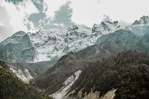 Ingyenes stockfotó csúcs, festői, gleccser, hegyek témában