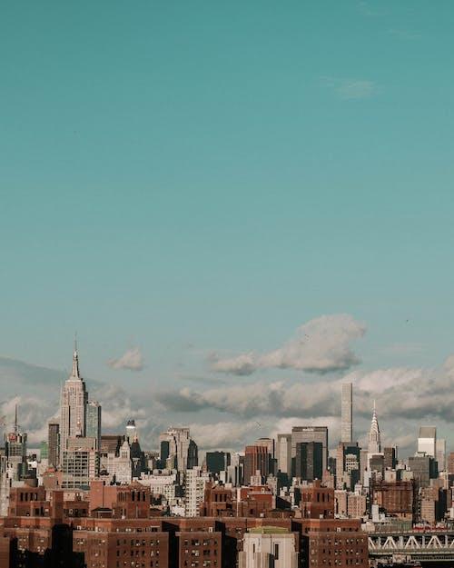 skyscrappers, 城市, 城鎮, 天際線 的 免費圖庫相片
