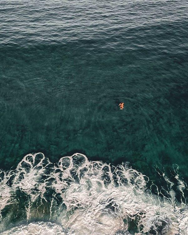 ánh sáng ban ngày, bắn góc cao, biển