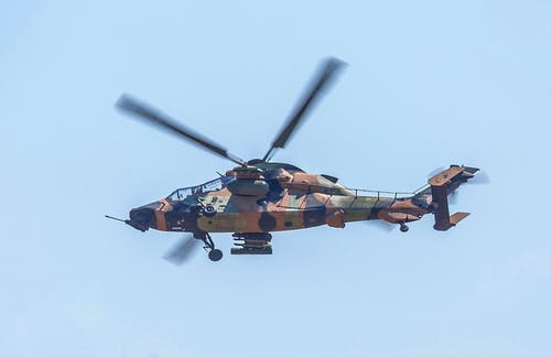 Free stock photo of aircraft, ARH Tiger, Attack Helicopter, image