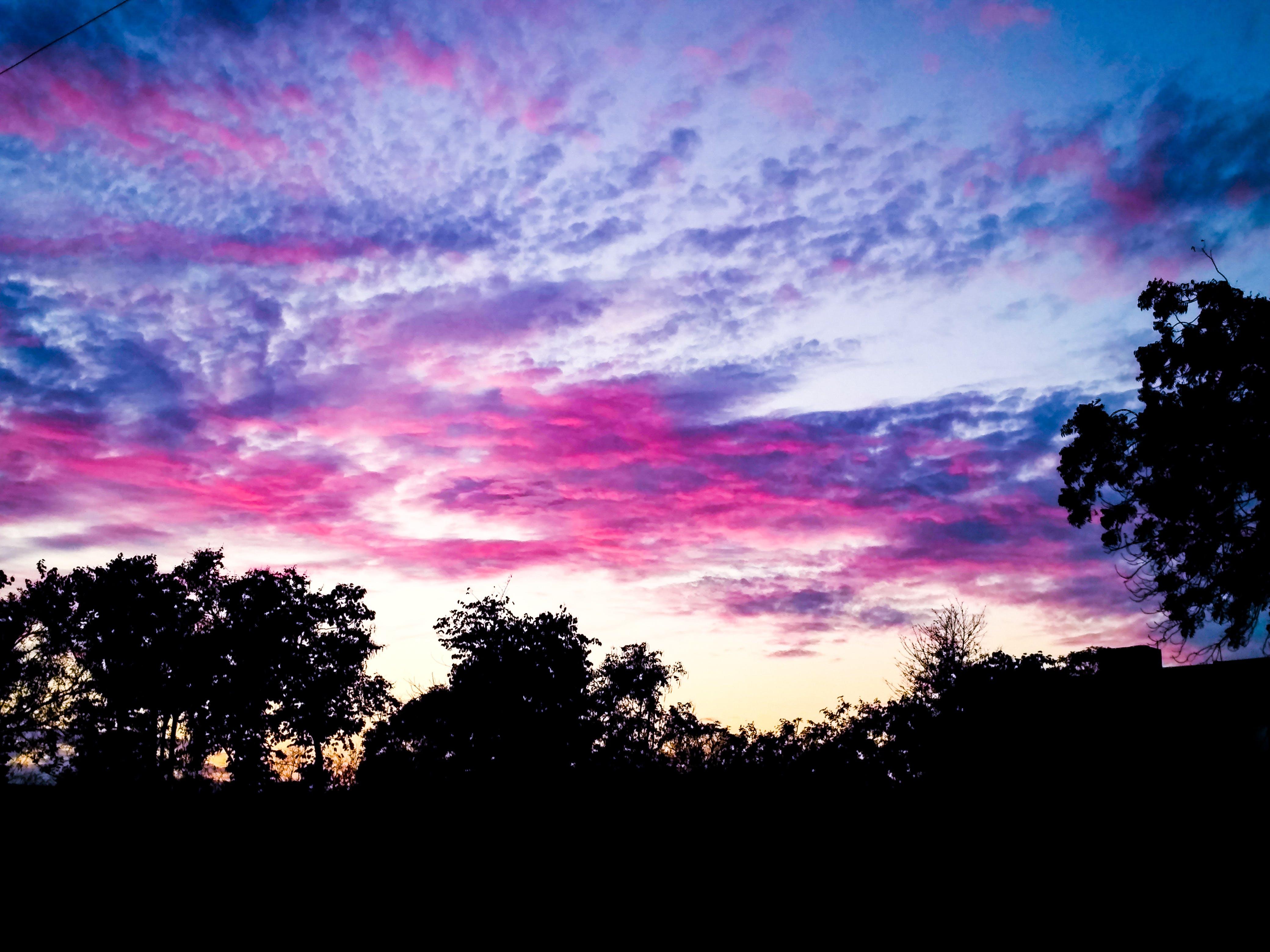 Photos gratuites de ciel, nuages, rouge