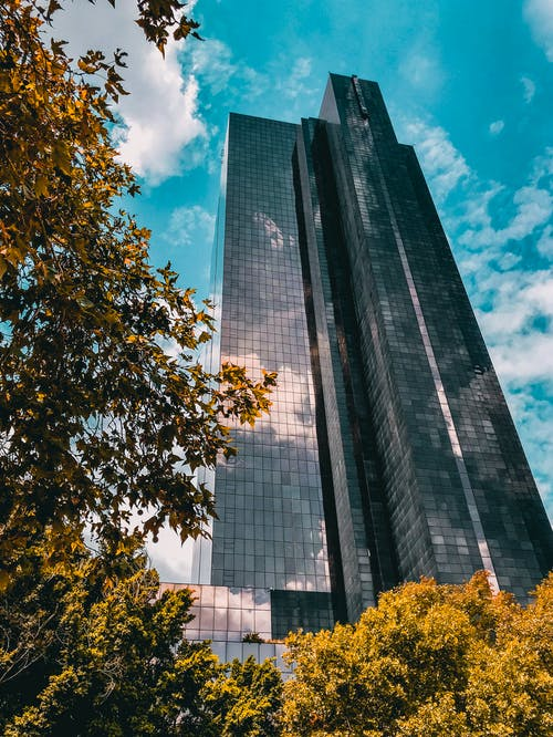 คลังภาพถ่ายฟรี ของ กลางวัน, การถ่ายภาพมุมต่ำ, ตอนกลางวัน, ตึกสูง