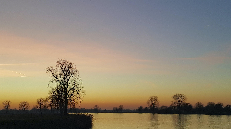 Free stock photo of horizon, pastel sky, phone picture, sundown