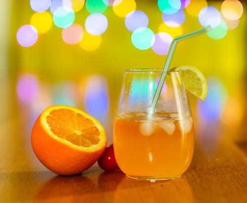 Kostenloses Stock Foto zu auf den felsen, cocktail, eis, farbige lichter