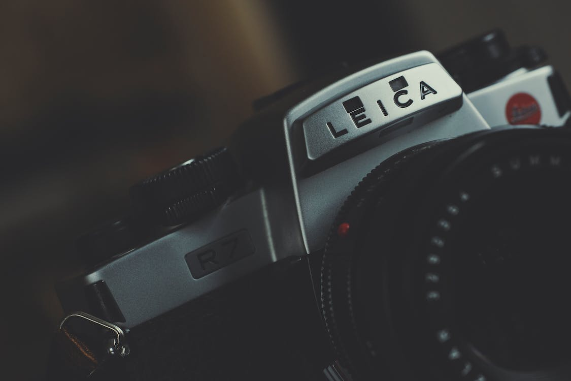 Macro Photography of Leica Dslr Camera