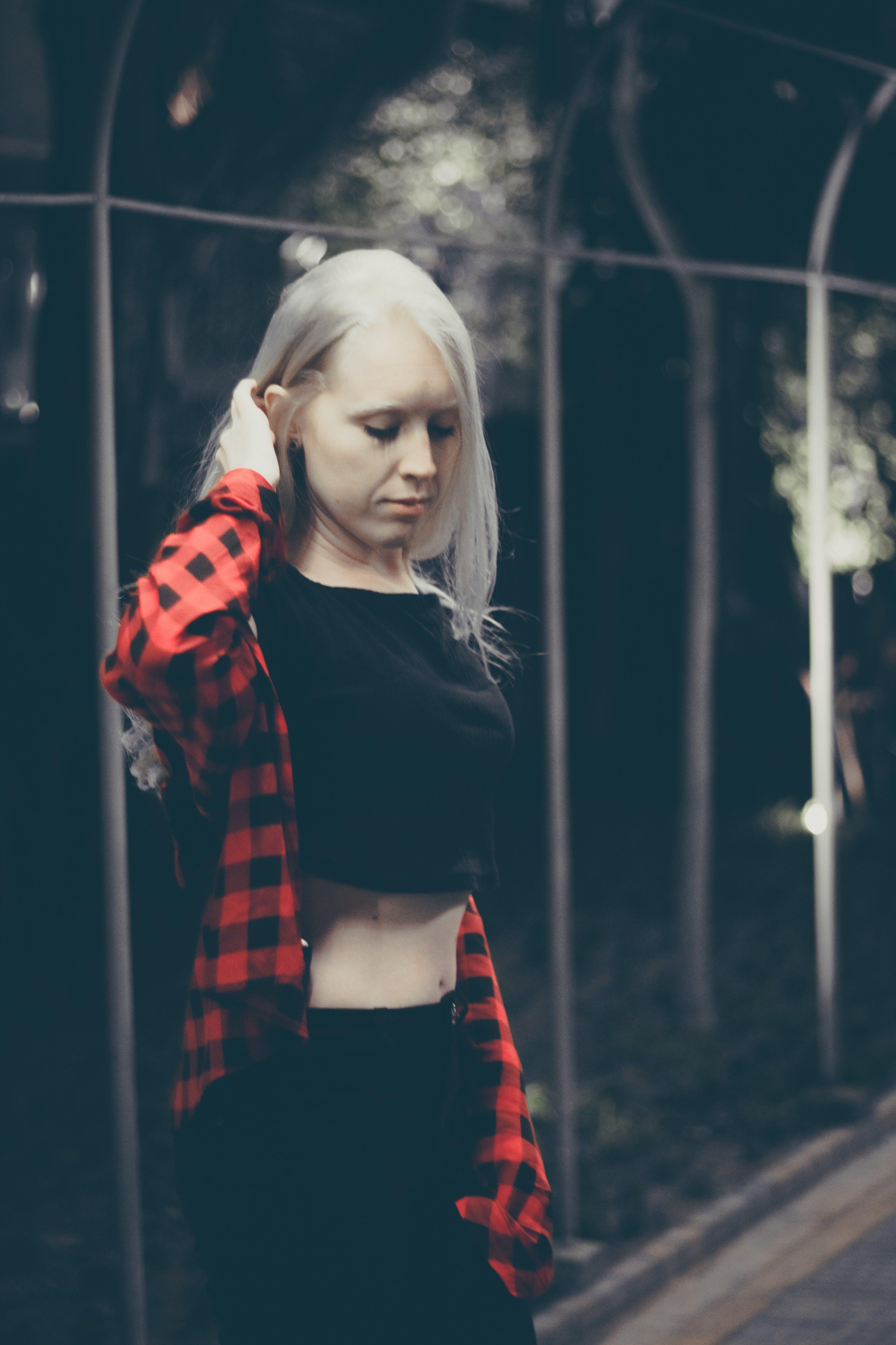 Free stock photo of albino, blond hair, blonde, dame