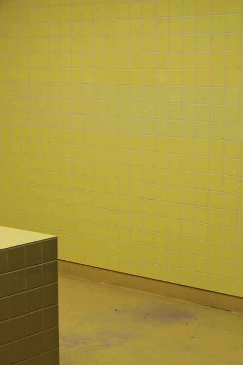 Photo Of Yellow Tiles On Wall