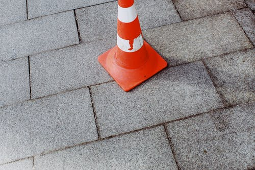 Photo Of Traffic Cone On The Ground