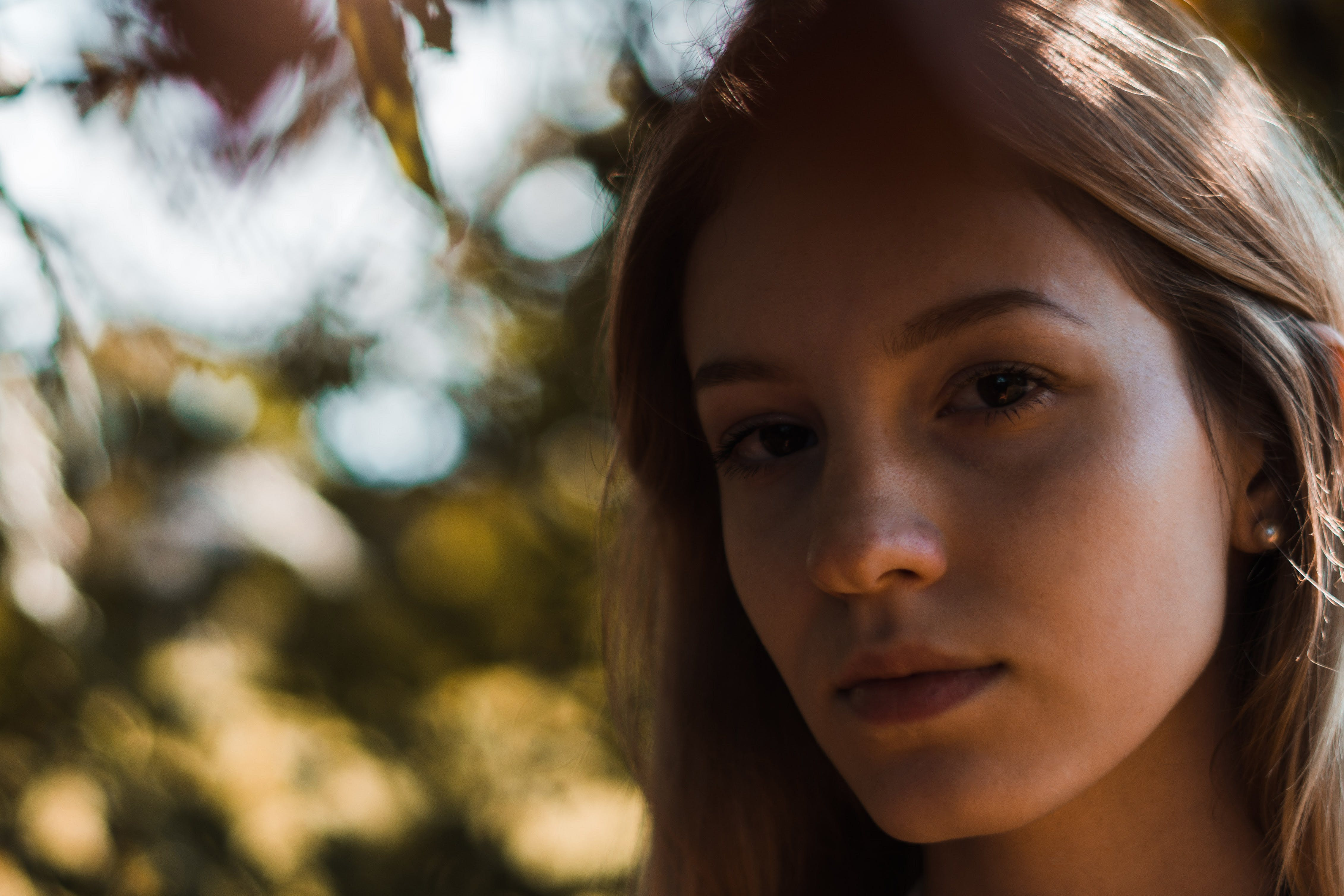 Free stock photo of beautiful eyes, beauty in nature, girl, natural