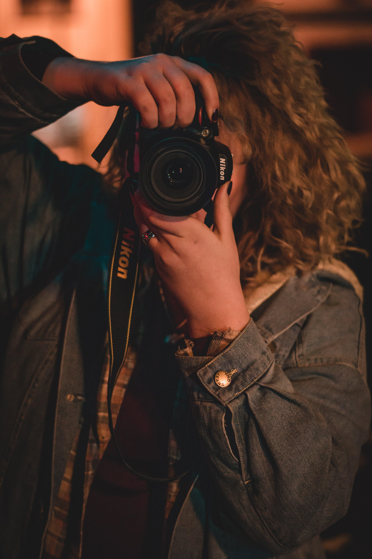 Free stock photo of nikon, photographer, portrait