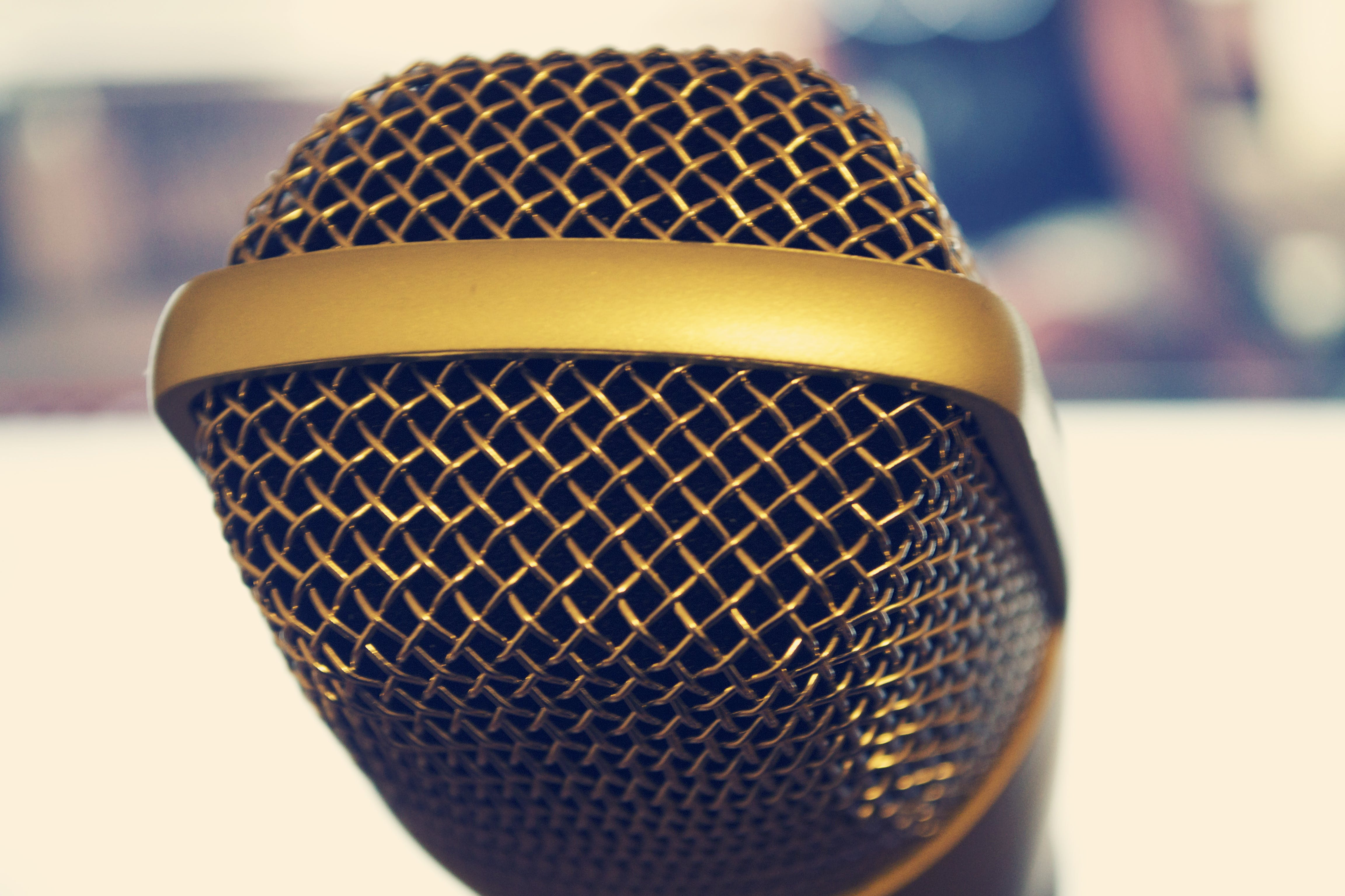 Shallow Focus Photography of Microphone