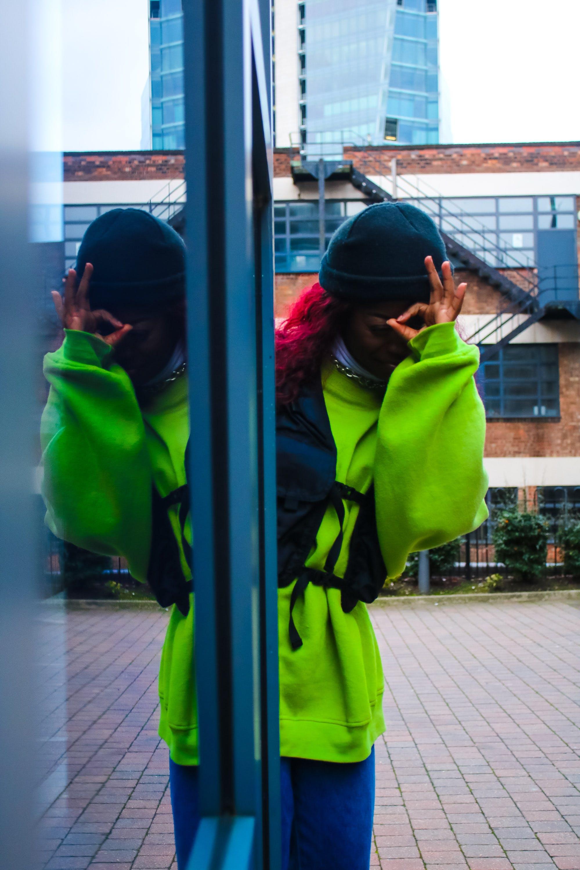 Photos gratuites de double, mode, reflet, streetwear