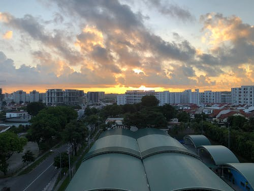 Free stock photo of early morning, Rising Sun, singapore, sunrise