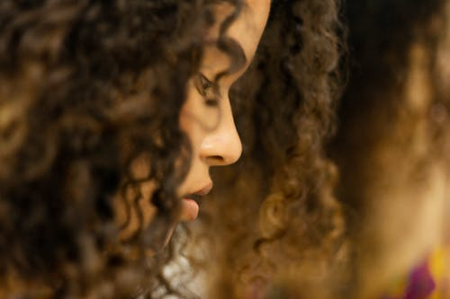 Free stock photo of close, curly hair