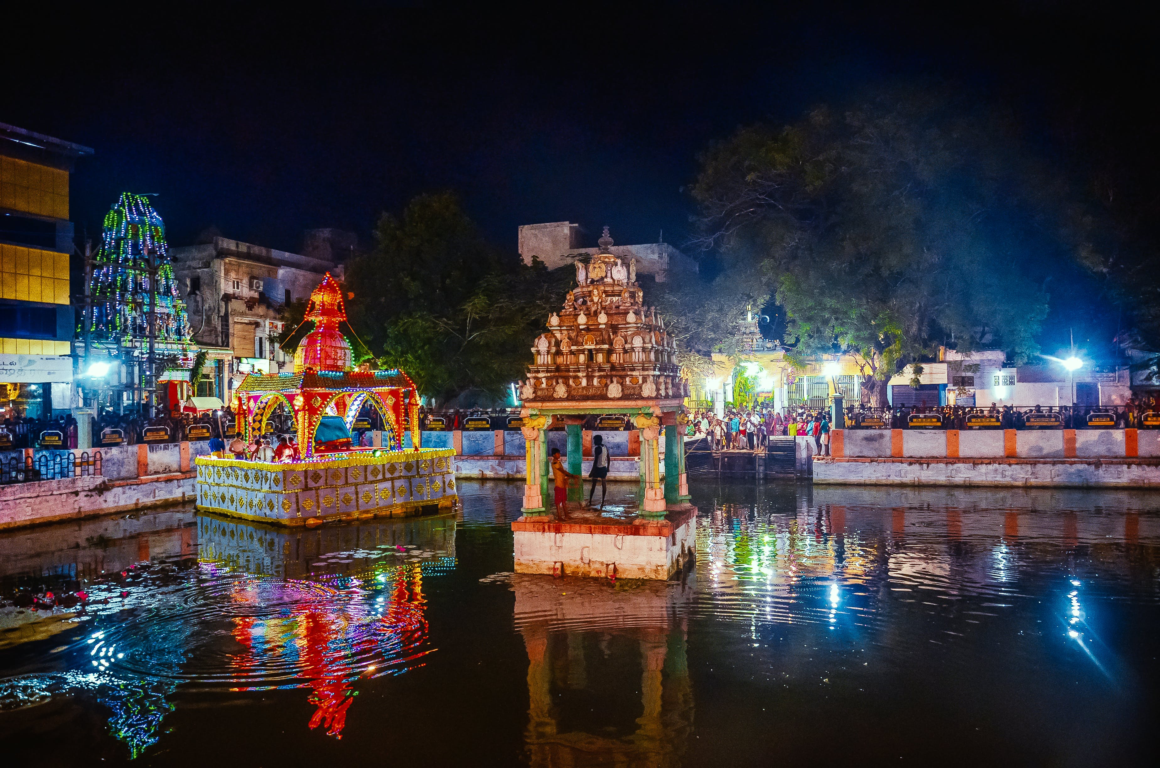 Free stock photo of colorful, festival of india, indian tradition, night