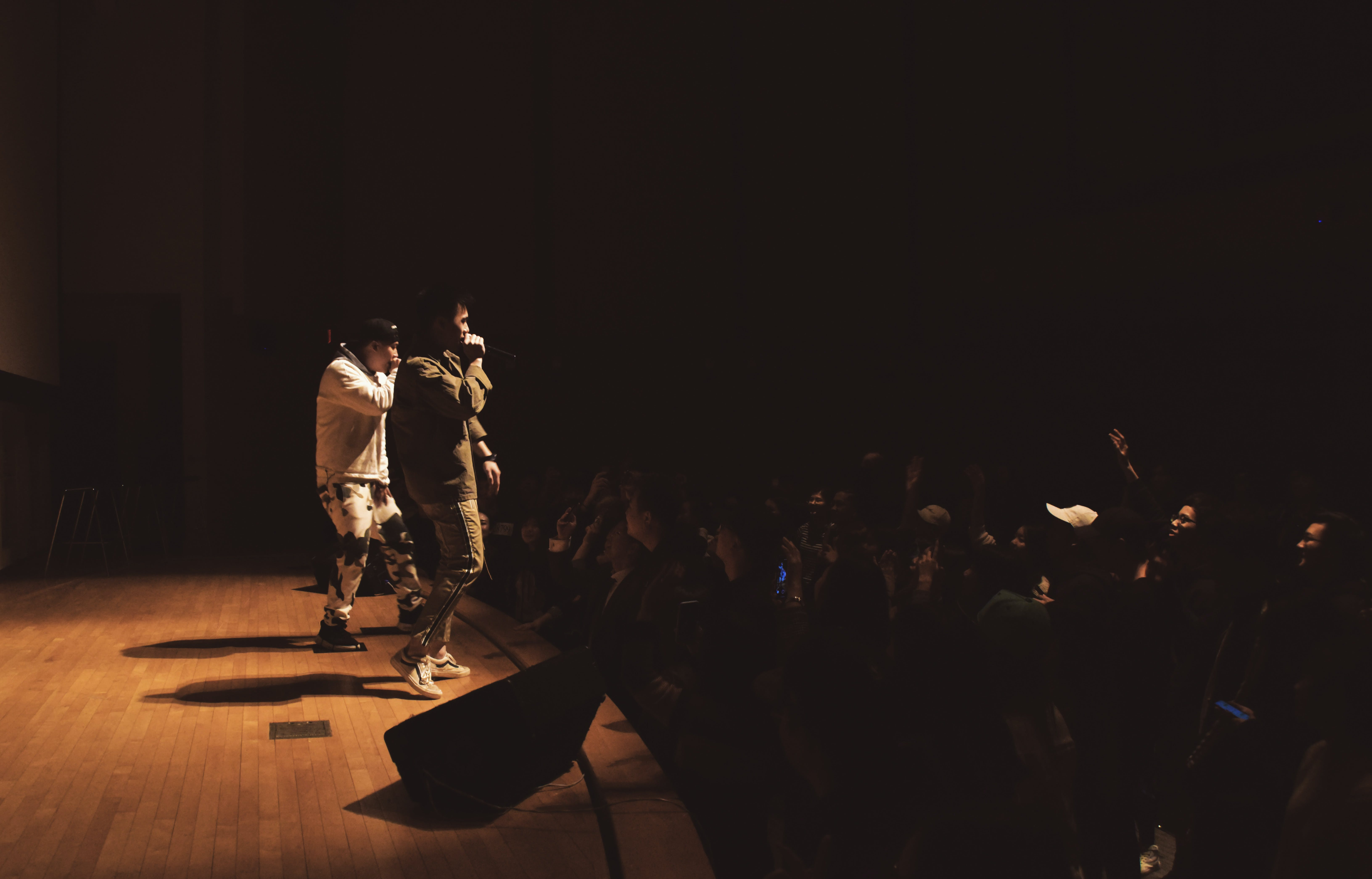Free stock photo of live show, rap music, singers