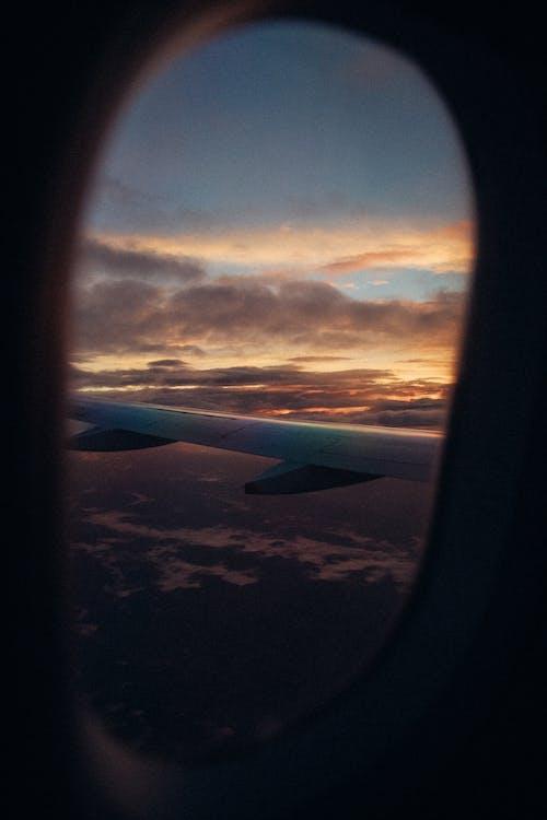 a l'aire lliure, ala d'avió, ala de l'avió