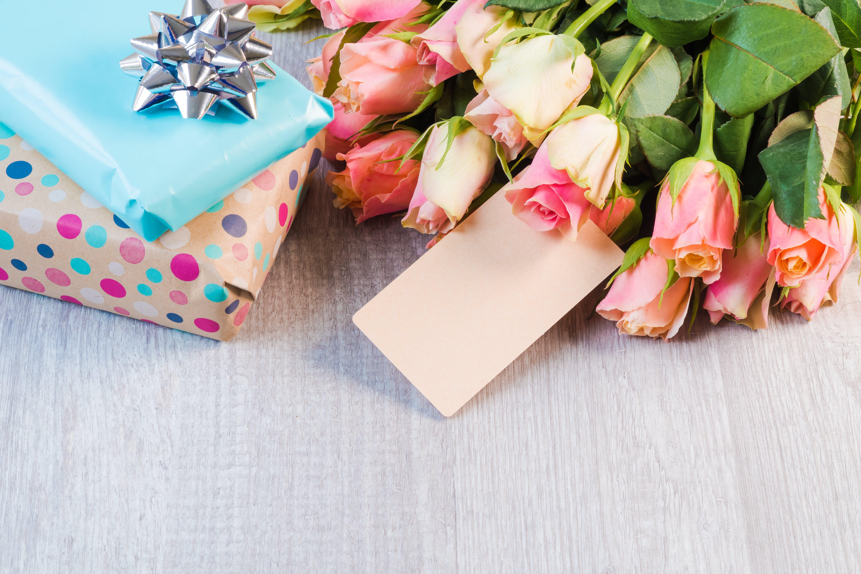 Free stock photo of birthday, birthday gift, flower, flowers