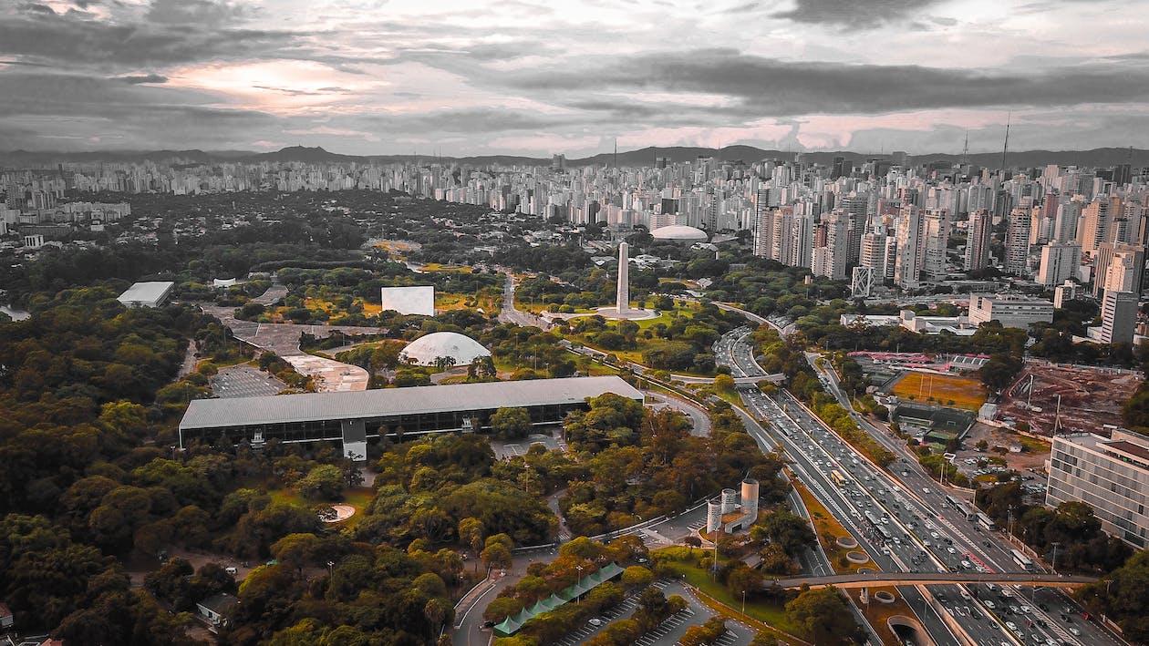 全景, 地標, 城市