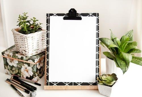 Gratis stockfoto met blanco, clipboard