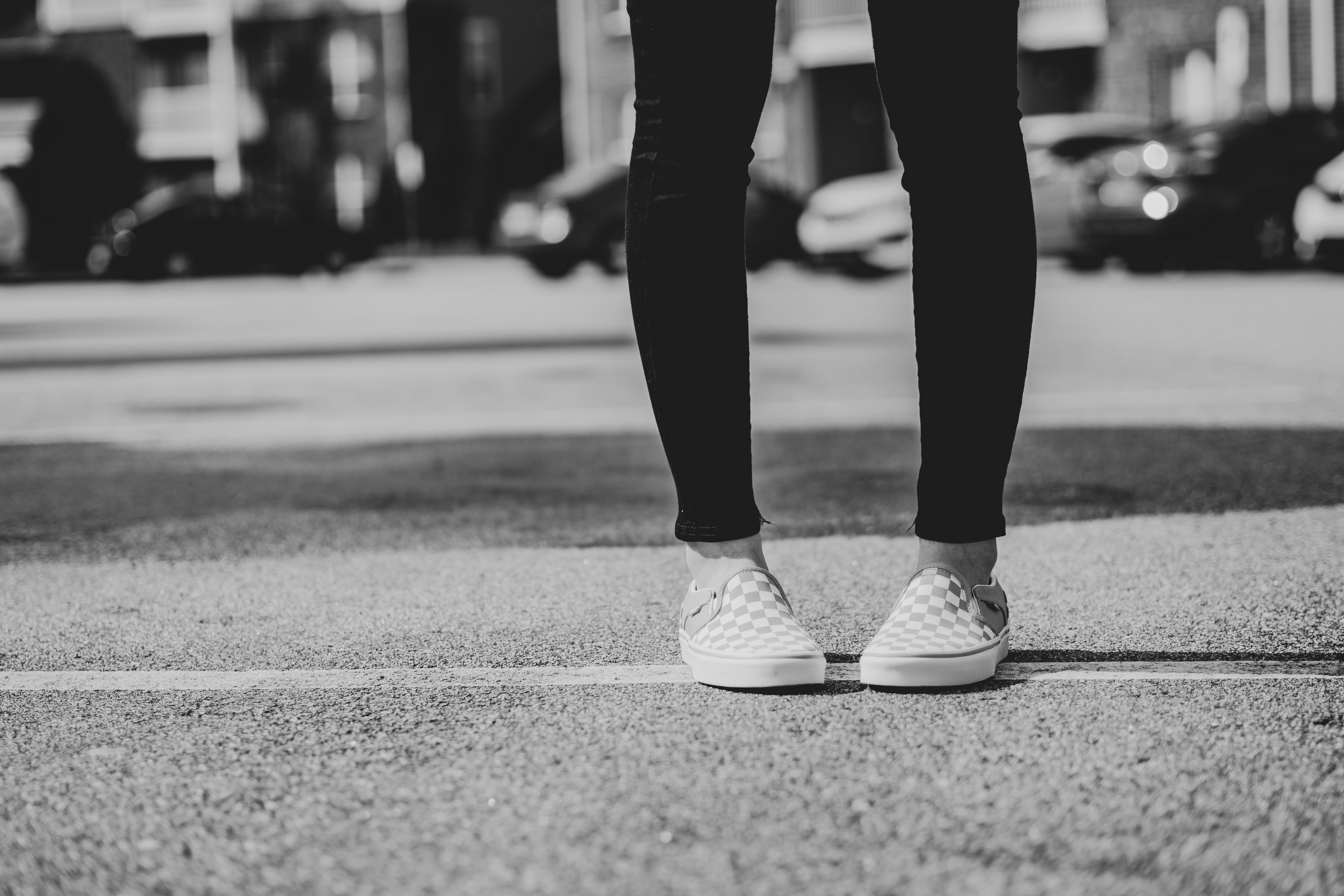 Free stock photo of canvas shoes, urban photography, vans