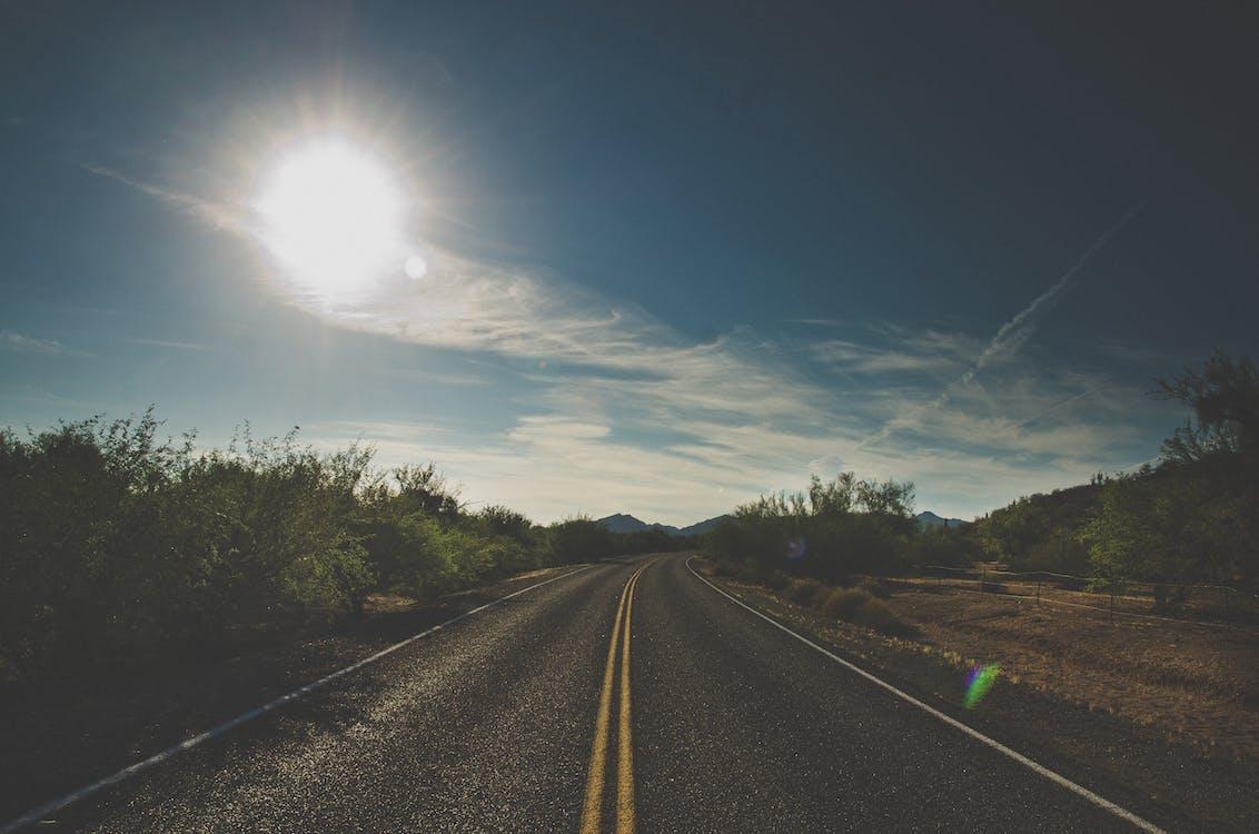 autobahn, landschaft, landschaften