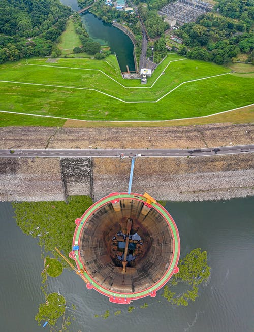 Immagine gratuita di acqua, aereo, alberi, ambiente