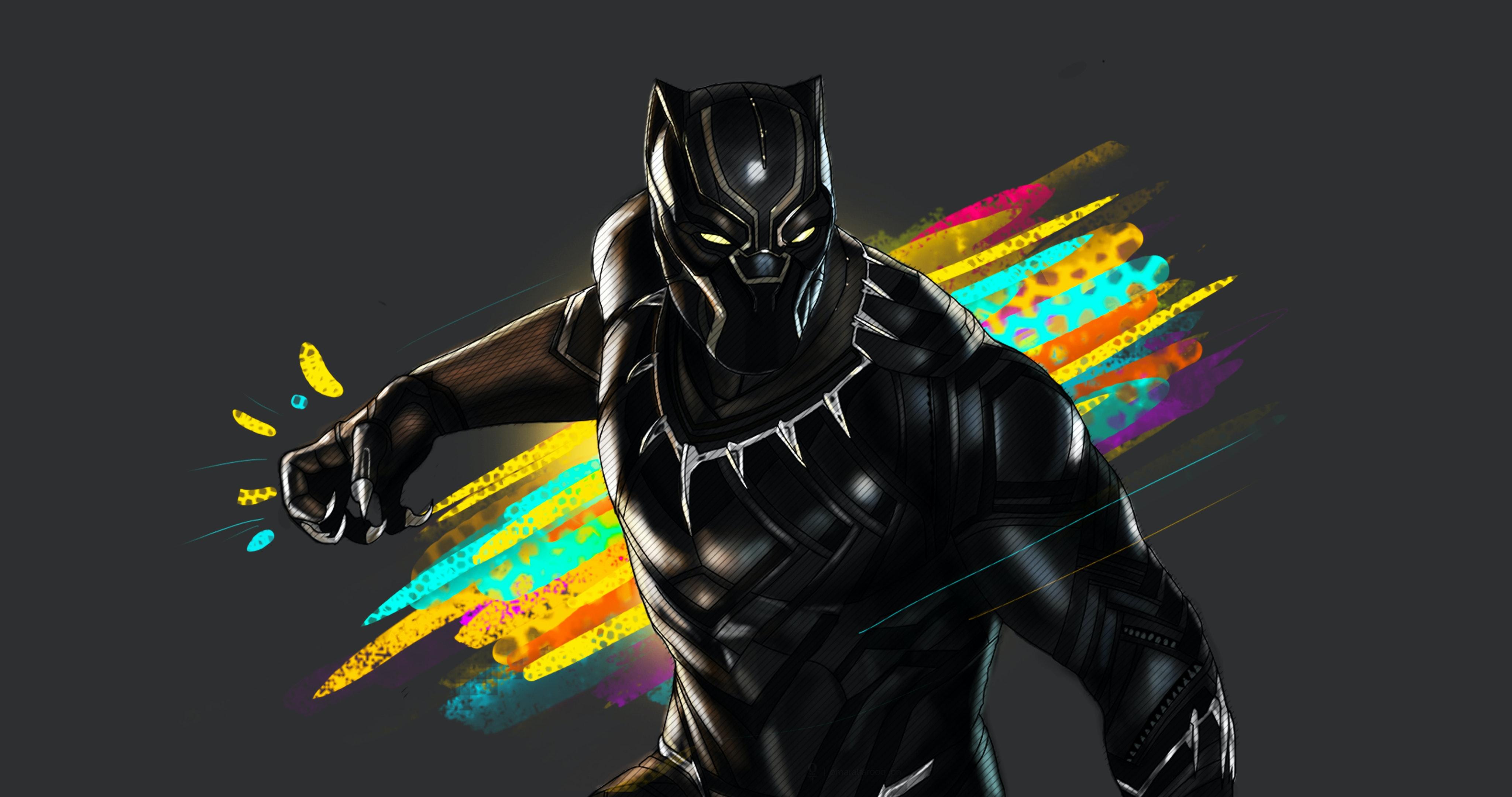 Free Stock Photo Of 4k Wallpaper Black Panther
