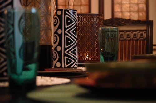 Безкоштовне стокове фото на тему «атмосфера, вечеря, викладка, вишукані страви»