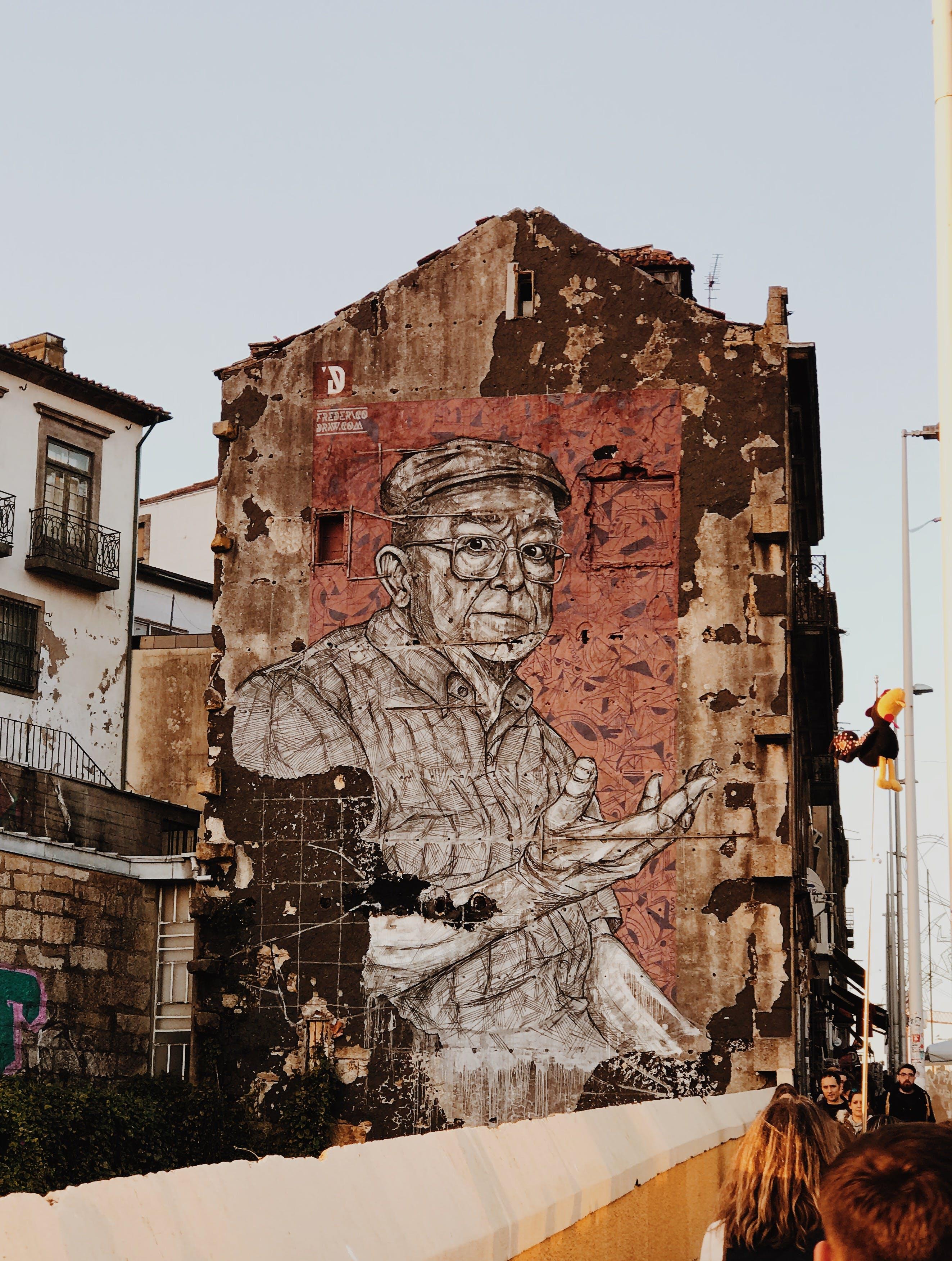 Foto profissional grátis de ancião, arquitetura, arte, arte de rua