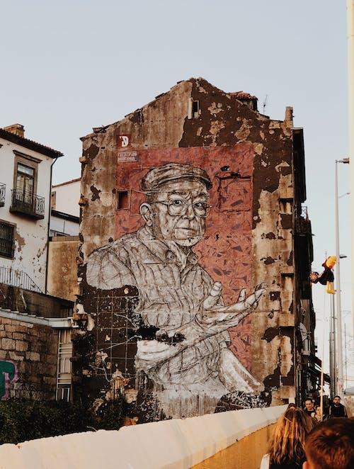 古老的, 地標, 城鎮, 塗鴉 的 免费素材照片