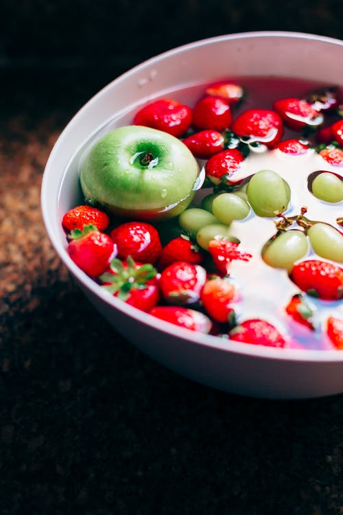 Free stock photo of apple, bowl of fruit, fresh fruits