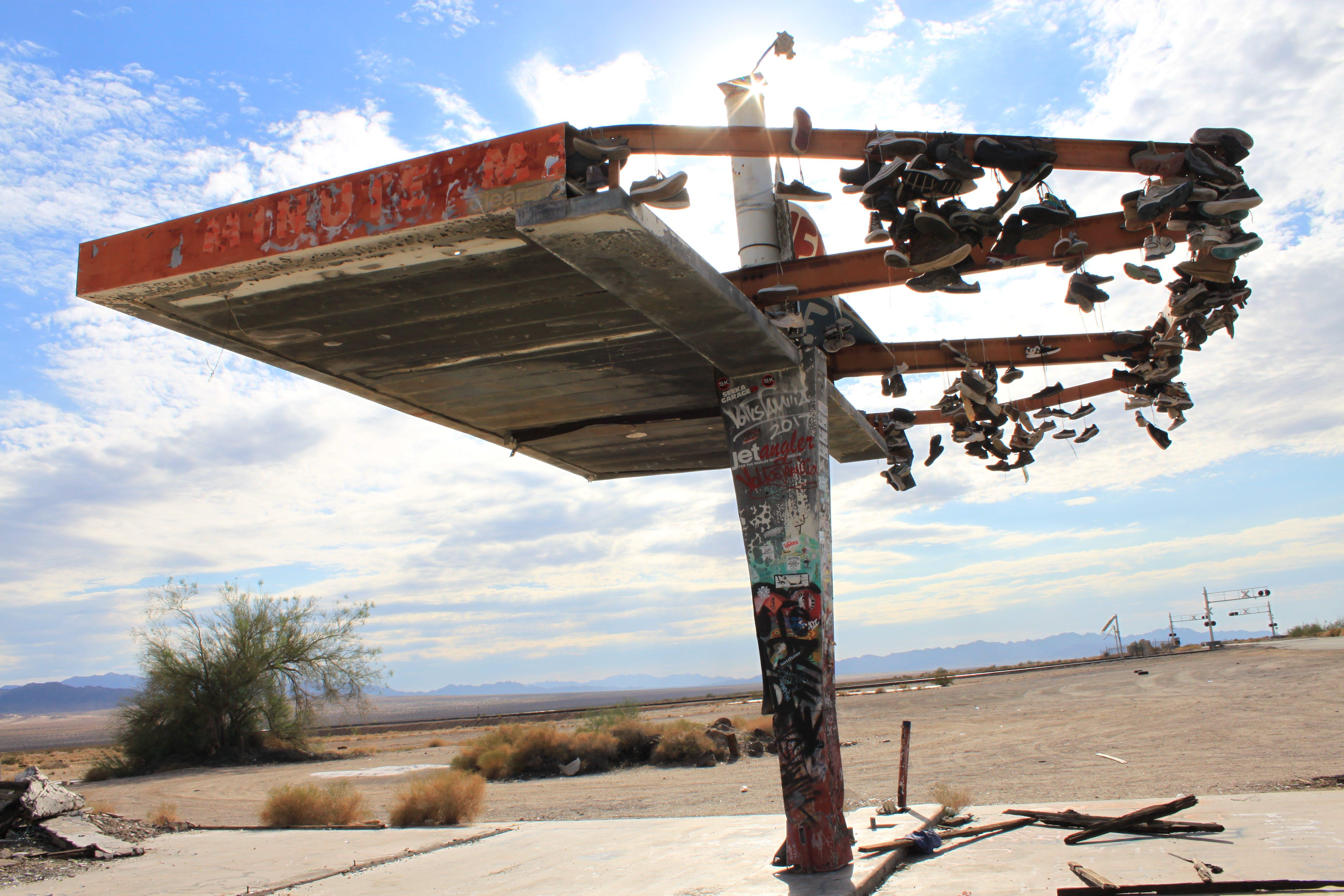 Free stock photo of abandoned, desert, sunshine