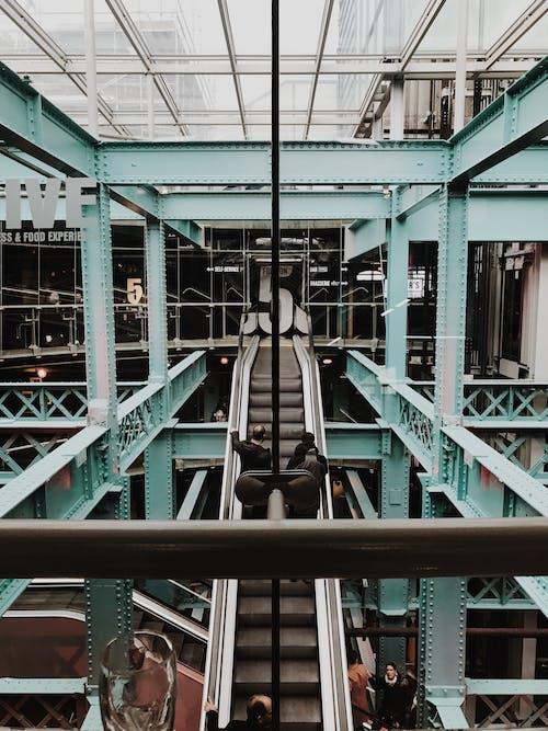 Základová fotografie zdarma na téma architektura, budova, lidé, moderní