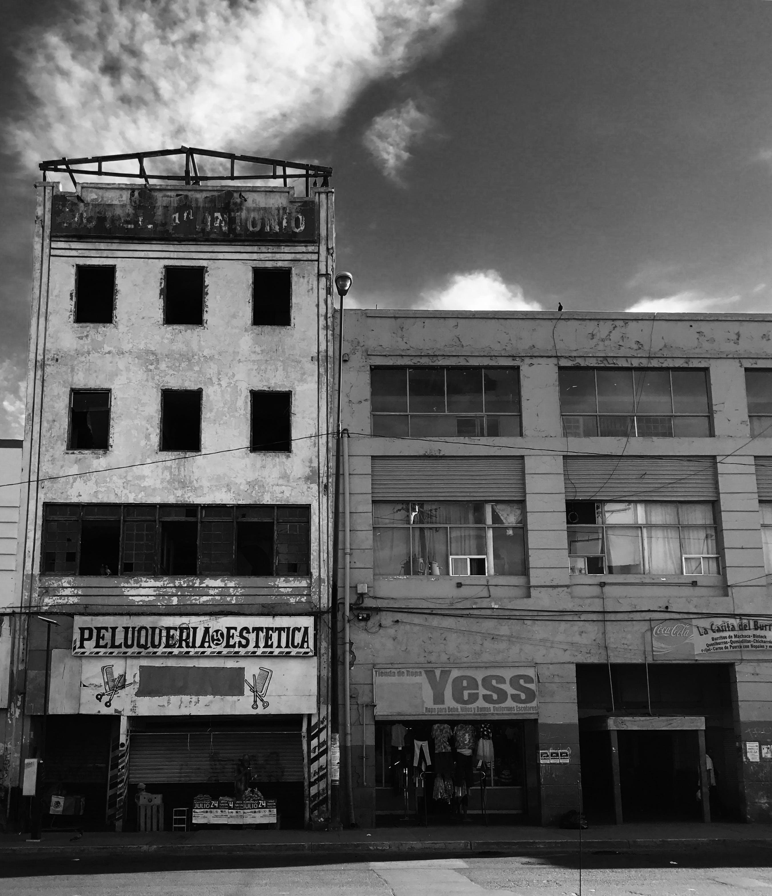 Free stock photo of abandoned building, espanol