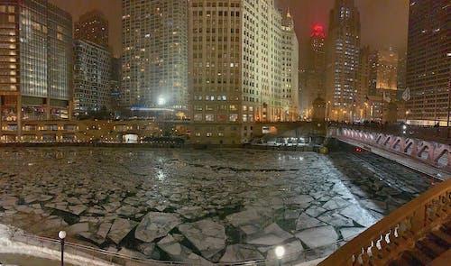 Základová fotografie zdarma na téma chicago, downtown chicago, most, řeka chicago