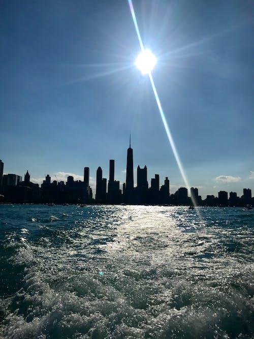 Základová fotografie zdarma na téma chicago, člun, léto, mávání