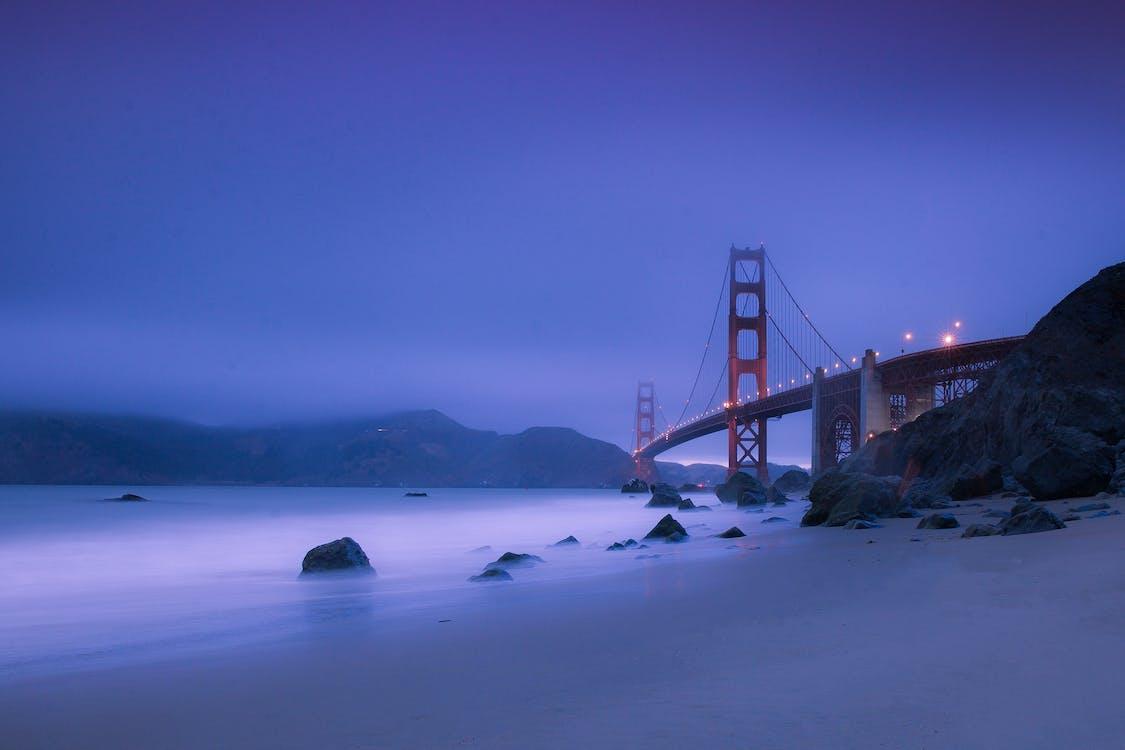 Golden Gate Bridge during Nighttime