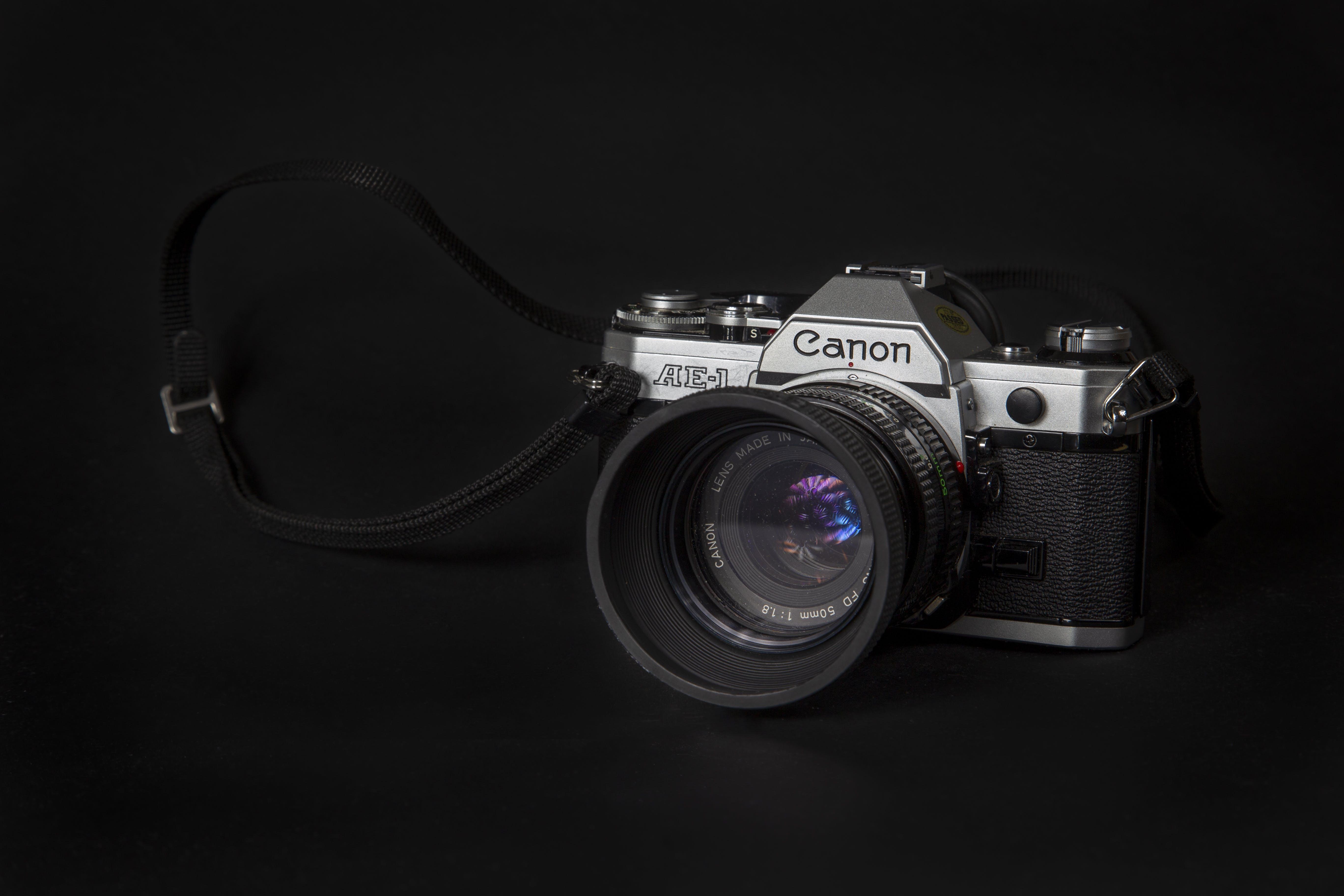 Analogový, analogový fotoaparát, canon