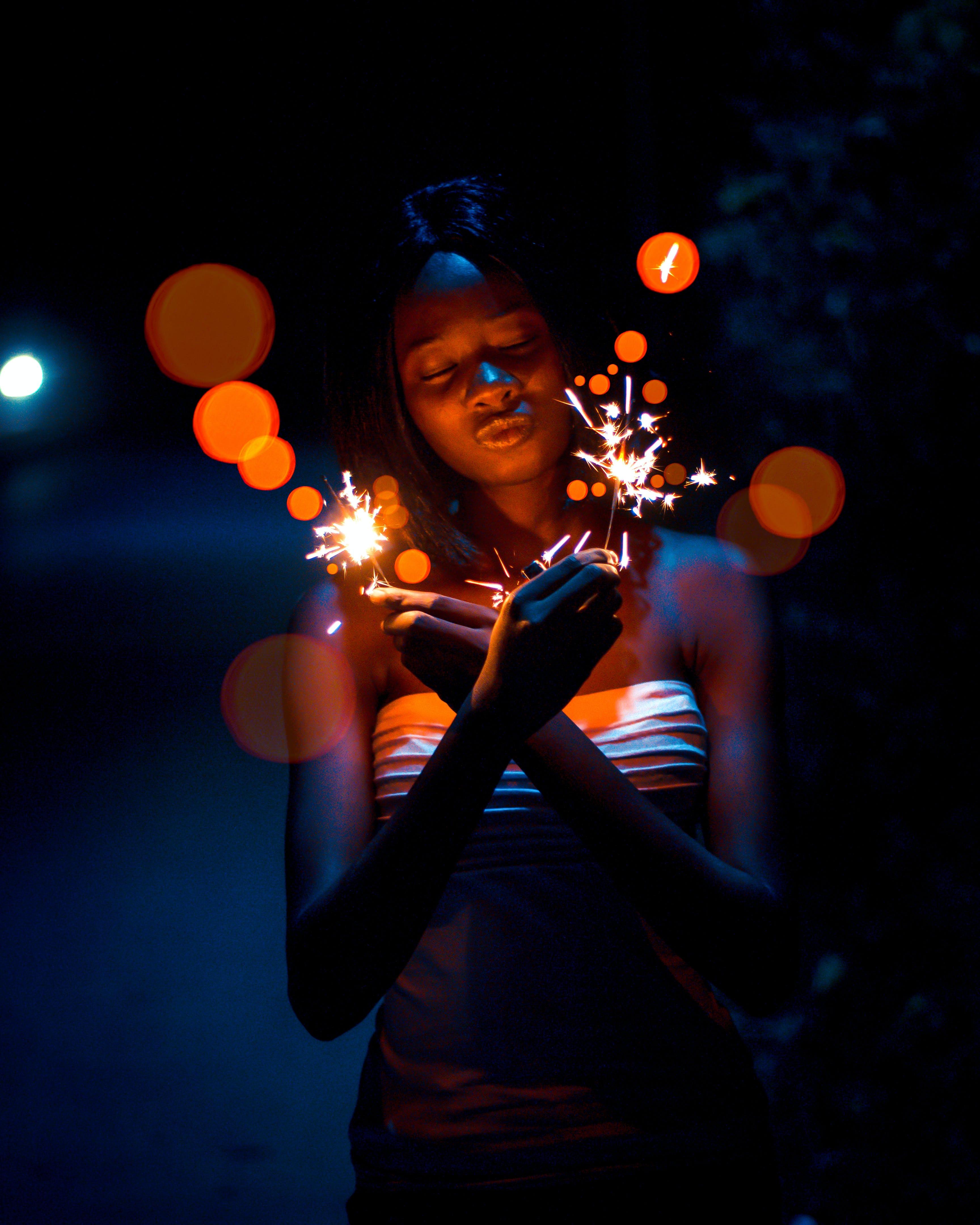 Δωρεάν στοκ φωτογραφιών με άνθρωπος, αστερίες, γιορτή, γυναίκα