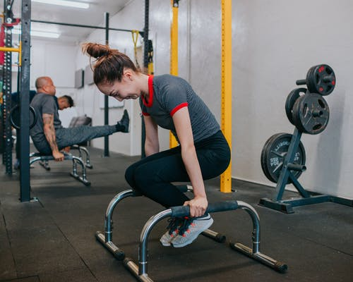 健身器材, 健身房, 側面圖, 努力 的 免費圖庫相片