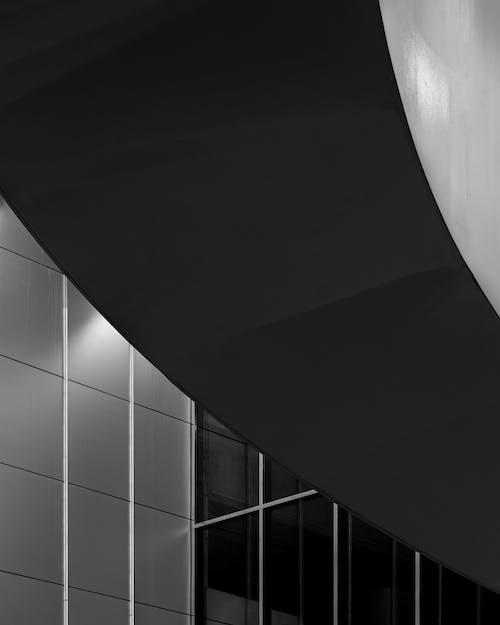 Fotobanka sbezplatnými fotkami na tému architektonický dizajn, architektúra, budova, čiernobiela fotografia