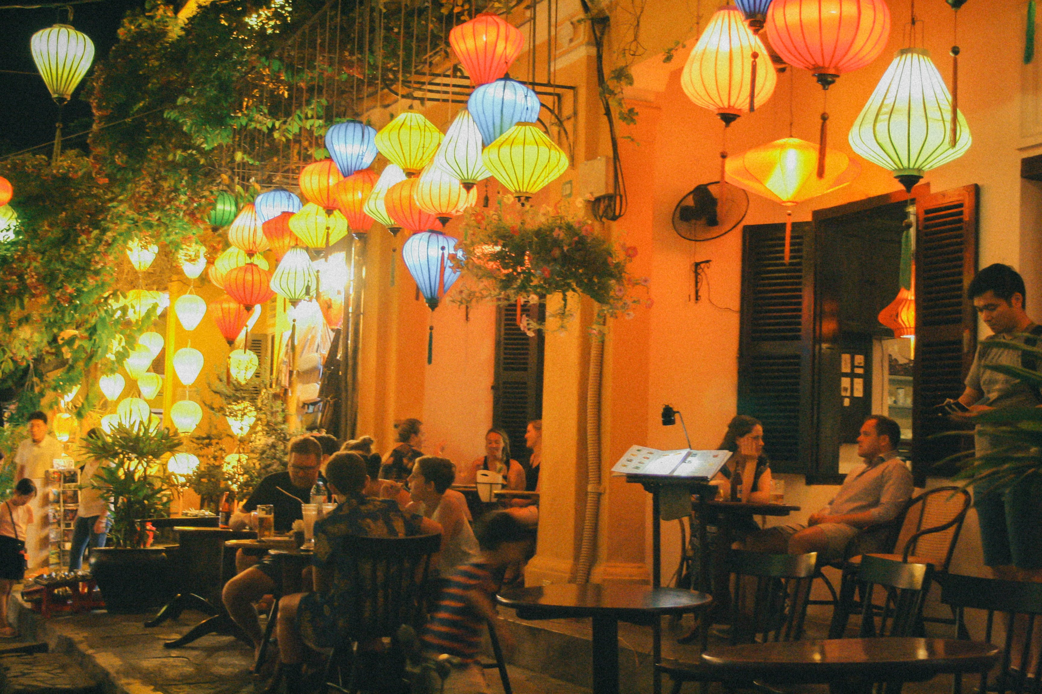 Free stock photo of coffee, hang out, hội an, lantern