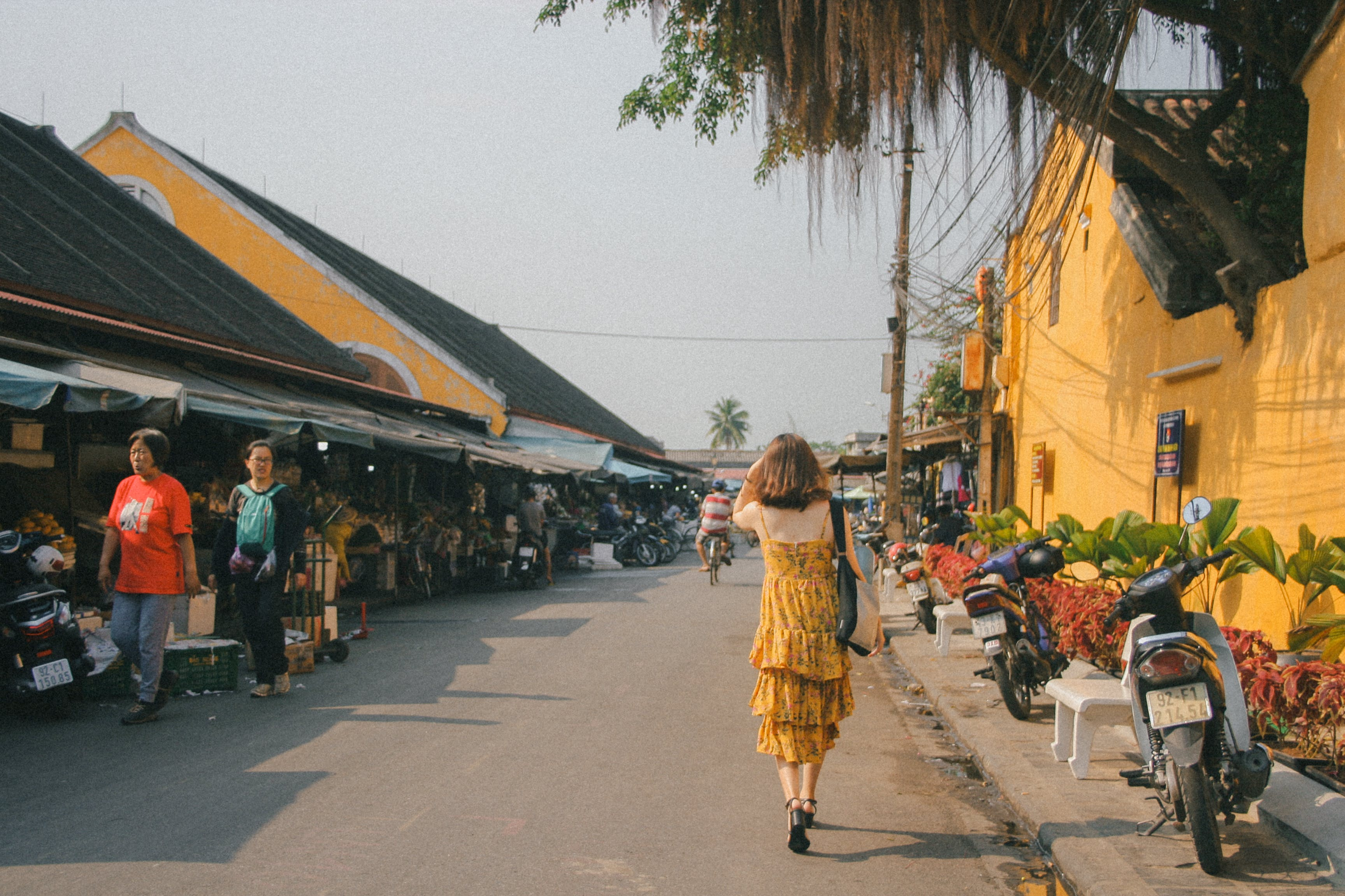 Free stock photo of girl, hội an, noon, old town